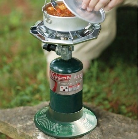 Cooking On Coleman Bottle Top Camping Stove